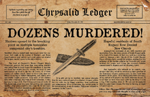 Chrysalid Ledger 3