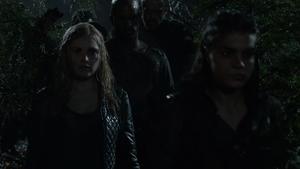 Resurrection 100 (Clarke and Octavia)