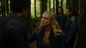 Twilight's Last Gleaming 050 (Bellamy, Clarke, Raven and Finn)