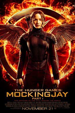 Katniss mockingjay poster -D