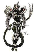 Godzilla Neo MONSTER X by GodzillaSamurai