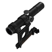 3.5x rifle scope classic