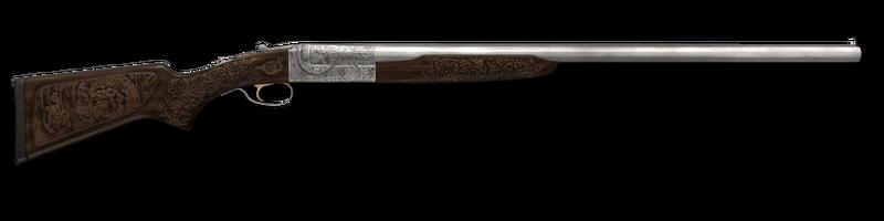 Shotgun sxs engraved 12ga 1024