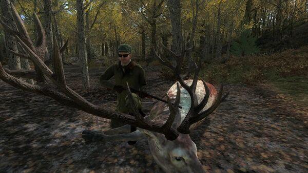 Onkel666 275 piebald red deer