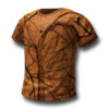 Basic tshirt orange 256