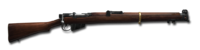 Bolt action rifle 303 british 1024