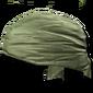 Head bandana green