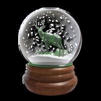Snowglobe emerald