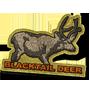 Blacktail deer badge