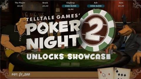 Poker Night 2 Unlocks Showcase Trailer