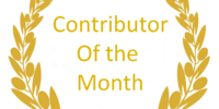 Contributor of the month