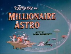 Millionaire astro title