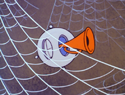 Peekaboo prober with horn