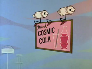 Cosmic Cola ad