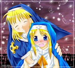 Nun Girl and Nun Boy XD