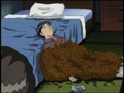 Kyoichi Muto's Dead Body (Anime)