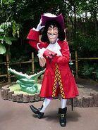 Captain Hook Disney Park