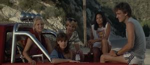 Kids in Jack Blake's truck