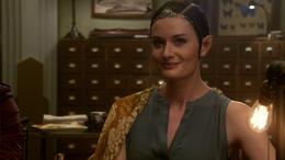 Lady Sililandria smiling at DuLaque