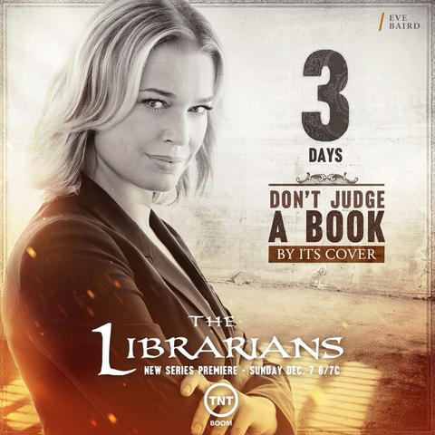 File:The Librarians three days poster.png