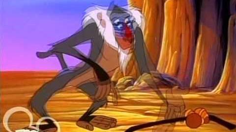 Timon & Pumbaa Rafiki Fables Beauty & The Wildebeest