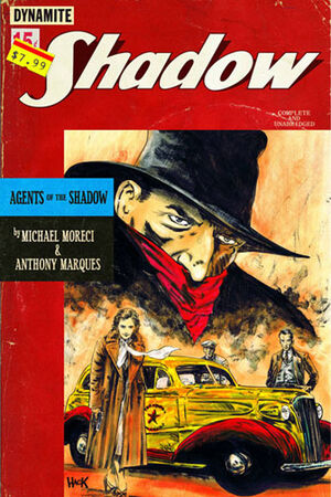 Agents of The Shadow Vol 1 1 (Dynamite)