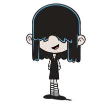 The Loud House Lucy with a smile Nickelodeon