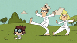 S2E18B Lisa is showing her parents Tai Chi