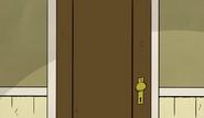 TLHP bathroom door