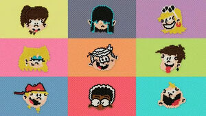 The Loud House Aquabeads Made with Nickelodeon
