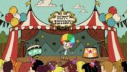 S1E24A circus theme party
