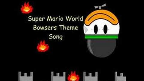 Super Mario World Bowsers Theme Song