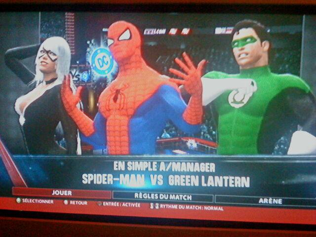 File:Black Cat Spidey and Green Lantern.jpg