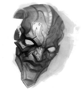 SF 1Ch24, Enemy of Death mask