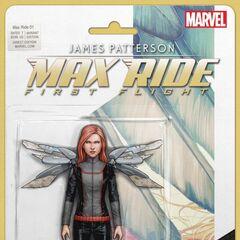 A Max Ride figurine