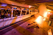 Universal Studios Disaster! Subway Train in Earthquake!
