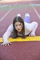 Sue finish line