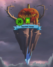 Haunted Forest Castle
