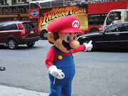 Mario in waluigi-return to cyper world