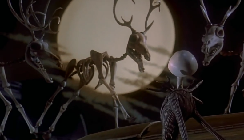 Skeletal Reindeer | The Nightmare Before Christmas Wiki | FANDOM ...