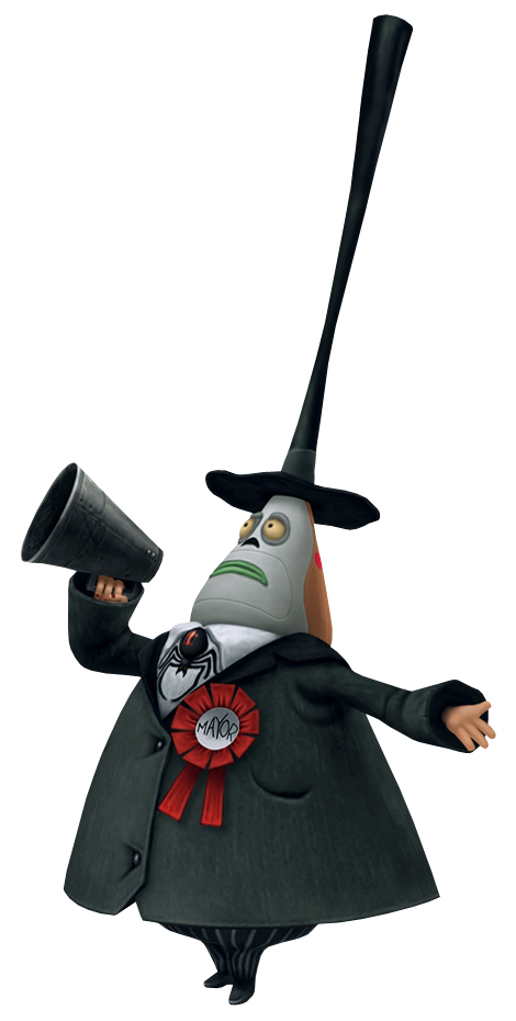 Image - The Mayor KHII.png | The Nightmare Before Christmas Wiki ...