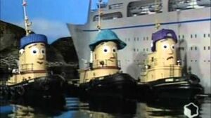 Theodore Tugboat Theodore & the Queen better quality-0