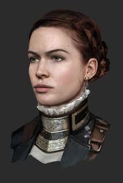 Isabeau D'Argyll Portrait