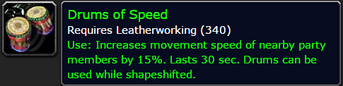 Drums of Speed