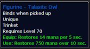 Talasite Owl