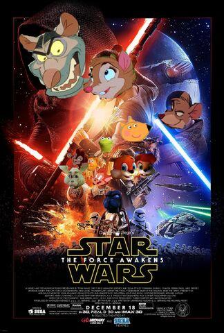 File:The Force Awakens (Disney and Sega Style) Poster.jpg