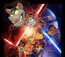 Star Wars Episode 7: The Force Awakens (Disney and Sega Style)