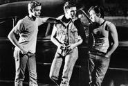 Ponyboy, Steve, and Two-Bit