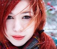 Pretty,girl,red,hair,snow-e8a8313099421a1e9f93b16d8baf578c m