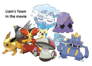 Liam's team